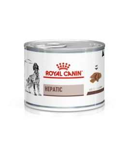 Pâtée HEPATIC Chien 12x200g - Veterinary Diet