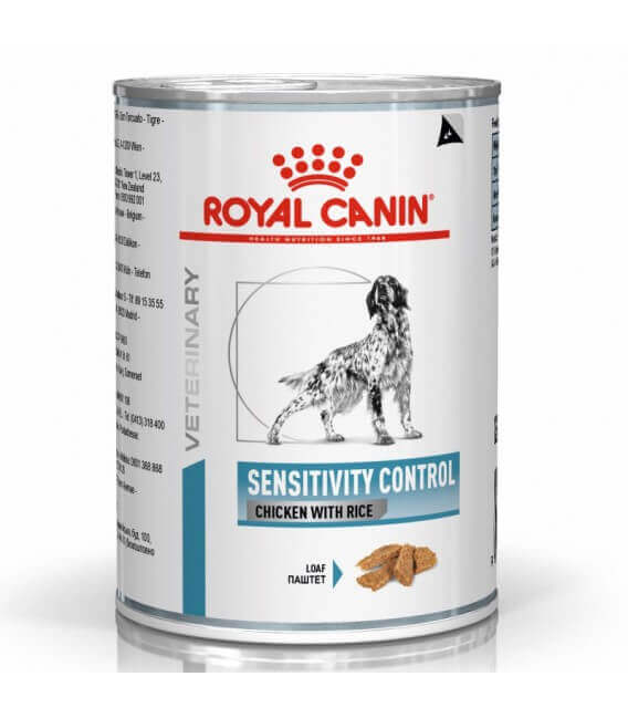 Pâtée SENSITIVITY CONTROL POULET Chien 12x420g - Veterinary Health Nutrition