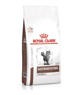 Croquettes GASTRO INTESTINAL HAIRBALL Chat Sac 4 kg - Veterinary Health Nutrition