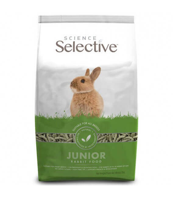 Aliment JUNIOR Lapin Sac 1.5 kg - Selective