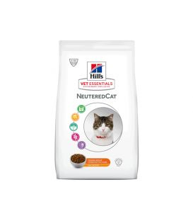 Croquettes NEUTERED YOUNG ADULT POULET Chat Sac 14 kg - Vet Essentials