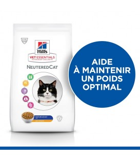 Croquettes NEUTERED MATURE ADULT 7+ POULET Chat Sac 2,5 kg - VetEssentials