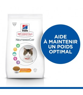 Croquettes NEUTERED YOUNG ADULT POULET Chat Sac 2,5 kg - VetEssentials