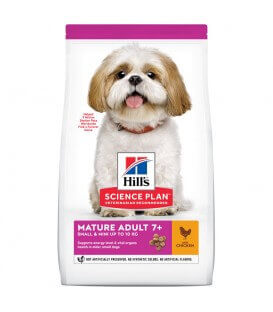 Croquettes MATURE ADULT 7+ SMALL & MINI Chien Sac 3 kg - Science Plan