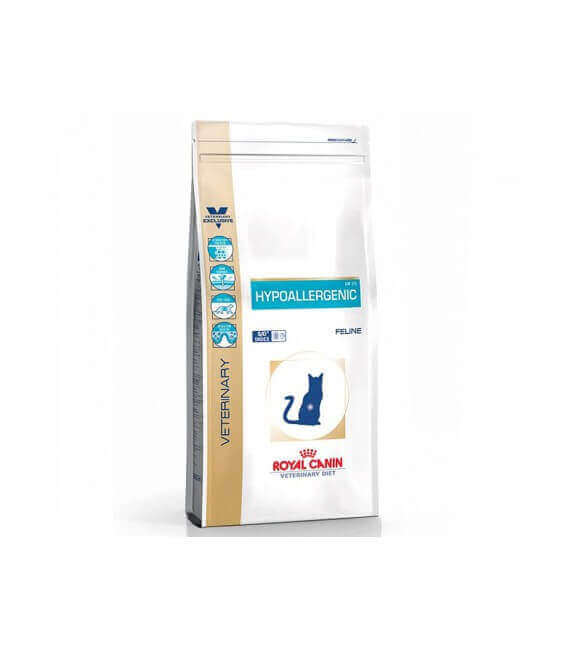 Croquettes HYPOALLERGENIC Sac 2.5 kg Chat - ROYAL CANIN Veterinary Diet