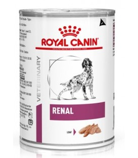Pâtée RENAL MOUSSE Chien 12x410g - Veterinary Health Nutrition