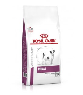 Croquettes RENAL SMALL Chien Sac 500 g - Veterinary Health Nutrition