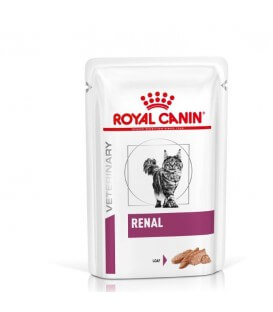 Pâtée RENAL POULET MOUSSE Chat - Veterinary Health Nutrition