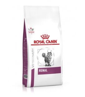 Croquettes RENAL Chat Sac 400 g - Veterinary Health Nutrition