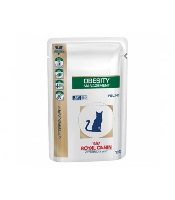 Veterinary Diet Chat OBESITY MANAGEMENT 12 Sachets de 100 g