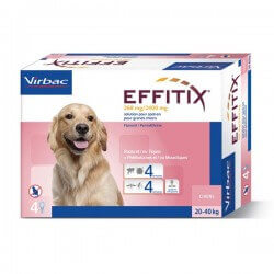 Solution EFFITIX SPOT-ON Grand Chien 4 pip.