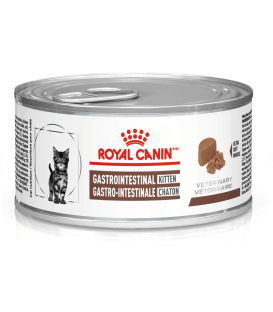 Pâtée GASTRO INTESTINAL KITTEN Chat 12x195g - Veterinary Health Nutrition