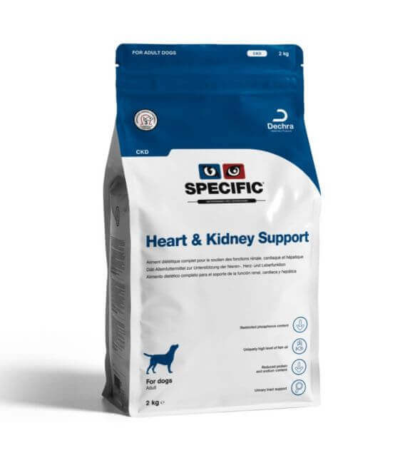 Croquettes CKD HEART & KIDNEY SUPPORT Chien Sac 12 kg - Specific