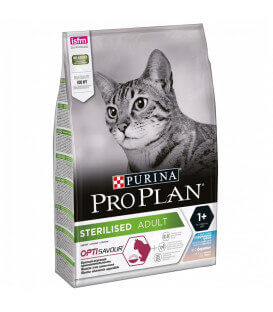 Croquettes STERILISED ADULT OPTISAVOUR CABILLAUD & TRUITE Sac 3 kg - Pro Plan