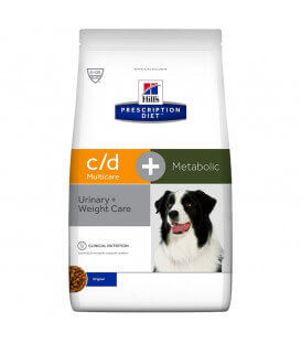 Croquettes C/D MULTICARE + METABOLIC Chien Sac 12 kg - Prescription Diet