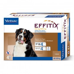 Solution EFFITIX SPOT-ON Très Grand Chien 4 pip.