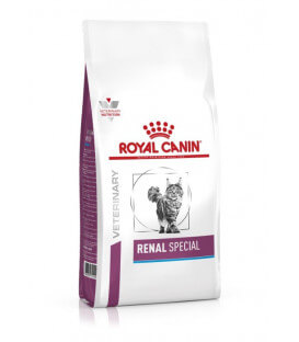 Croquettes RENAL SPECIAL Chat Sac 4 kg - Veterinary Health Nutrition