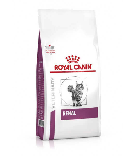 Croquettes RENAL Chat Sac 2 kg - Veterinary Health Nutrition