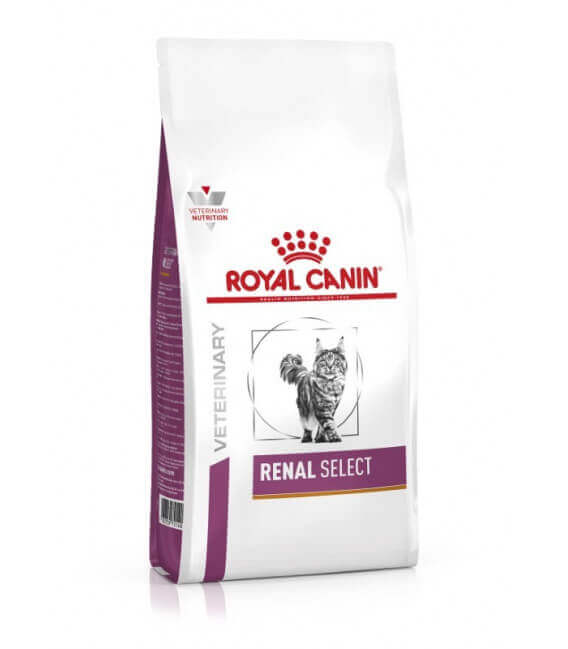 Croquettes RENAL SELECT Chat Sac 2 kg - Veterinary Health Nutrition