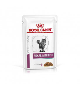 Pâtée RENAL POISSON Chat 12x85g - Veterinary Health Nutrition