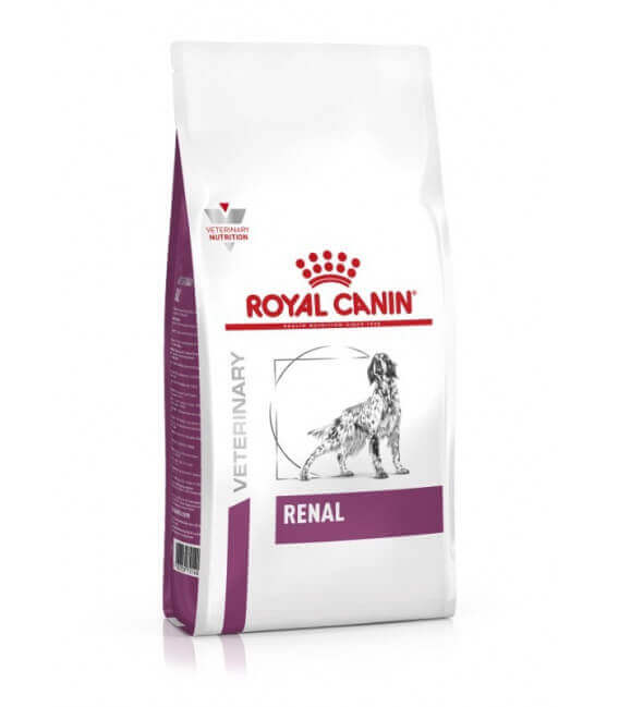 Croquettes RENAL Chien Sac 2 kg - Veterinary Health Nutrition
