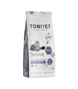 Croquettes SENIOR Chat Sac 5 kg - Tonivet