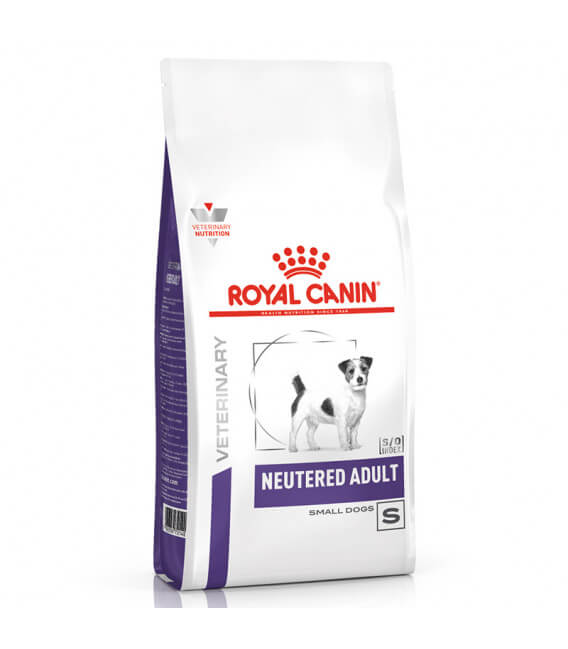 Croquettes NEUTERED ADULT SMALL Chien Sac 8 kg - Veterinary Health Nutrition