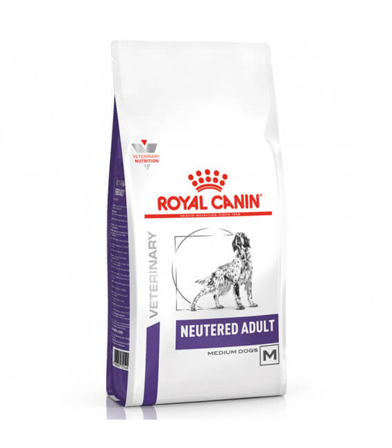 Croquettes NEUTERED ADULT MEDIUM Sac 3.5 kg Chien - ROYAL CANIN Veterinary Care Nutrition