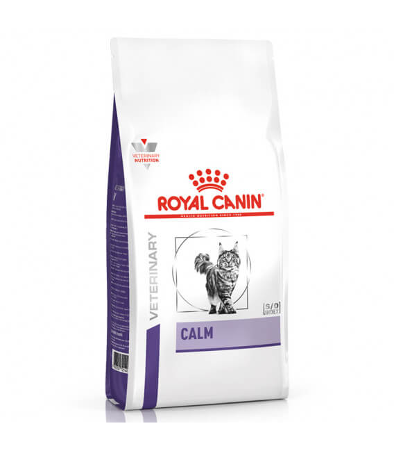 Croquettes CALM Chat Sac 4 kg - Veterinary Diet