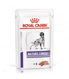MATURE CONSULT LOAF Chien 12x85g - Veterinary Health Nutrition