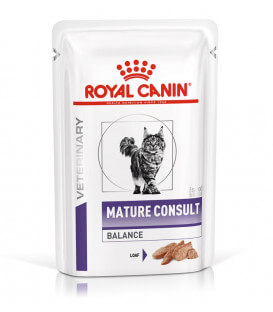MATURE CONSULT BALANCE LOAF Chat 12x85g - Veterinary Health Nutrition