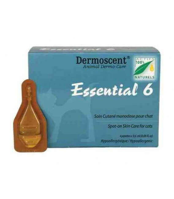 Solution ESSENTIAL 6 Chat 4 pip. - Dermoscent