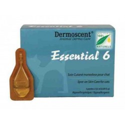 DERMOSCENT ESSENTIAL 6 CHAT 4 PIPETTES