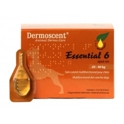 DERMOSCENT ESSENTIAL 6 CHIEN 20-40KG 4 PIP.