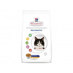 Croquettes NEUTERED MATURE ADULT 7+ POULET Chat Sac 1.5 kg - Vet Essentials