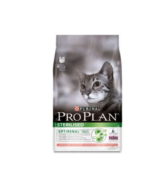 Croquettes STERILISED OPTIRENAL DINDE Chat Sac 400 g - Pro Plan