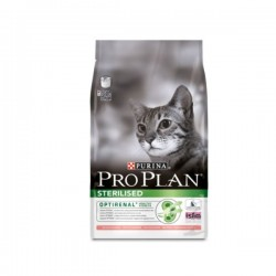 Croquettes STERILISED DINDE Chat Sac 400 g - Pro Plan