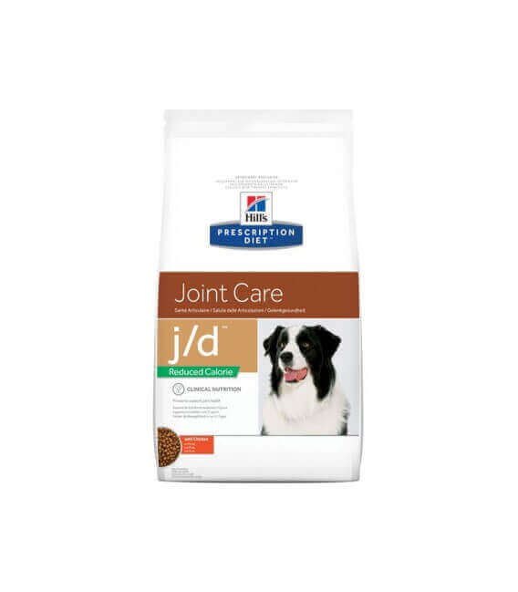 Croquettes J/D REDUCED CALORIE ORIGINAL Chien Sac 4 kg - Prescription Diet