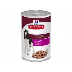 Patée ADULT BOEUF Chien 12x370g - Science Plan