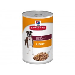Science Plan Chien ADULT LIGHT POULET 12 Boîtes 370 g