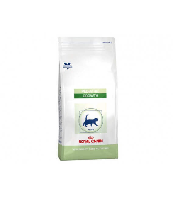 Croquettes PEDIATRIC GROWTH Chat Sac 2 kg - Veterinary Care Nutrition