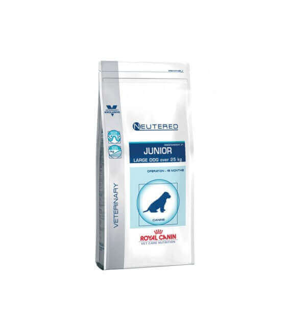 Croquettes NEUTERED JUNIOR LARGE Sac 4 kg Chien - ROYAL CANIN Veterinary Care Nutrition