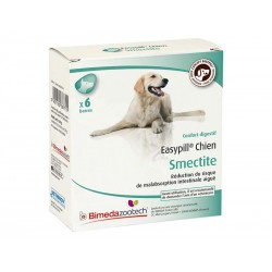 EASYPILL SMECTITE CHIEN 6 BARRES 28 G