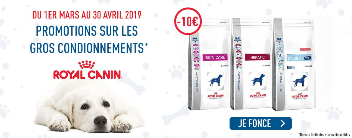 Promotions Royal Canin -10€